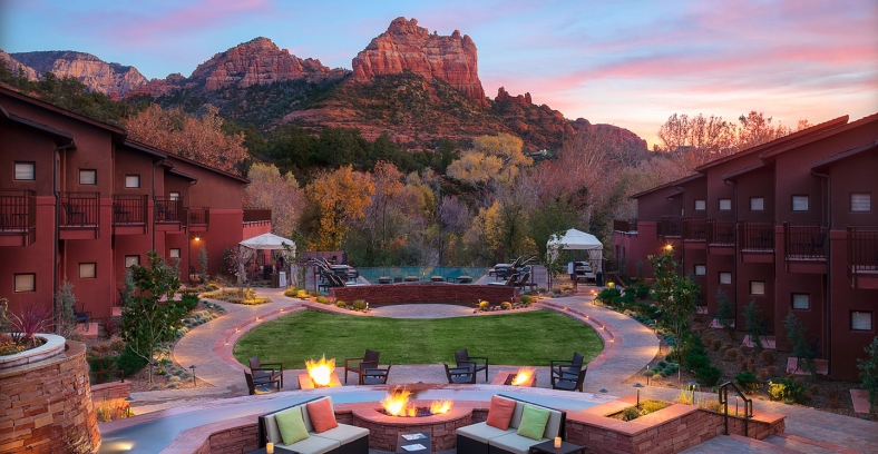 Where to Stay in Sedona AZ: Amara Resort & Spa, a Kimpton Hotel