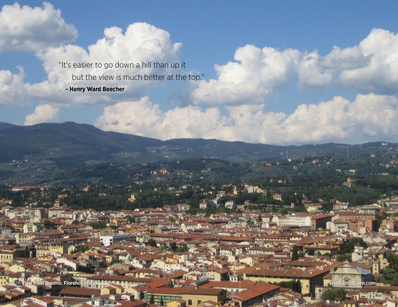 Visit Florence: Italy: Climb the Duomo for a view of Florence