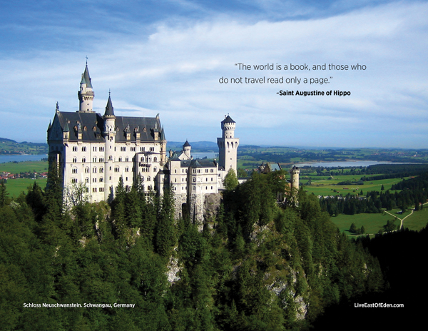 Quotes About Castles Mesmerizing Mad King Ludwig's Neuschwanstein Castle  Live East Of Eden
