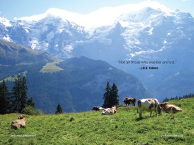Hiking in the Swiss Alps