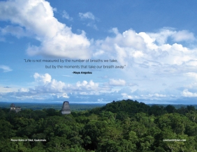 View from Temple V, Tikal National Park
