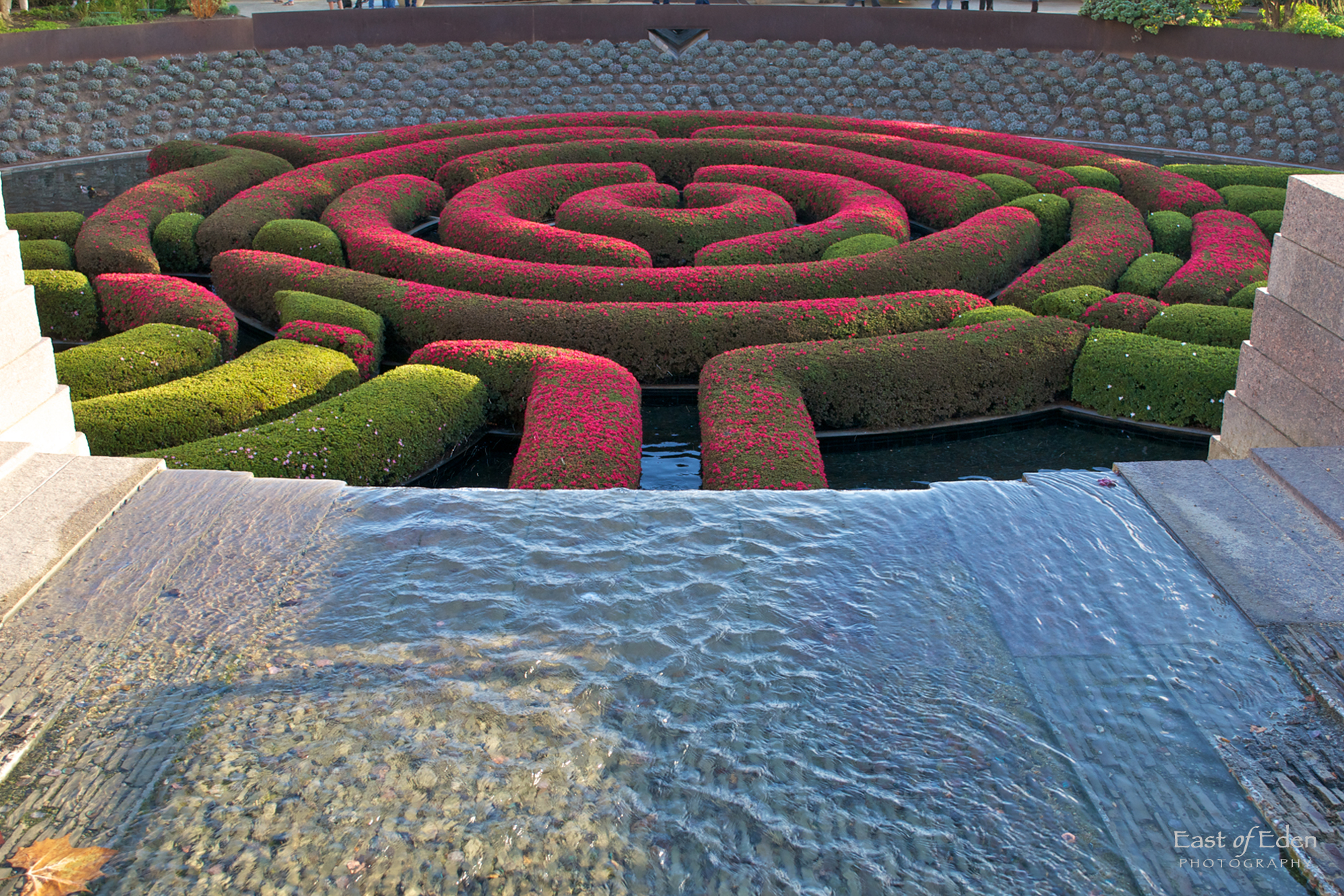 Getty Center Gardens Living Work of Art