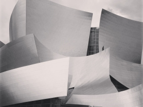 Walt Disney Concert Hall, home of the Los Angeles Philharmonic.